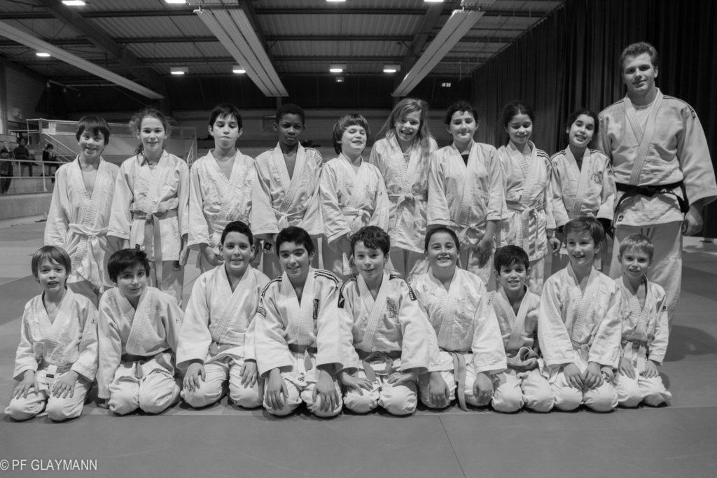 Judo à 10 ou 11 ans