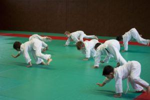 Baby judo au JAC