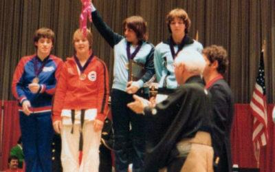 Jocelyne Triadou, première championne du monde